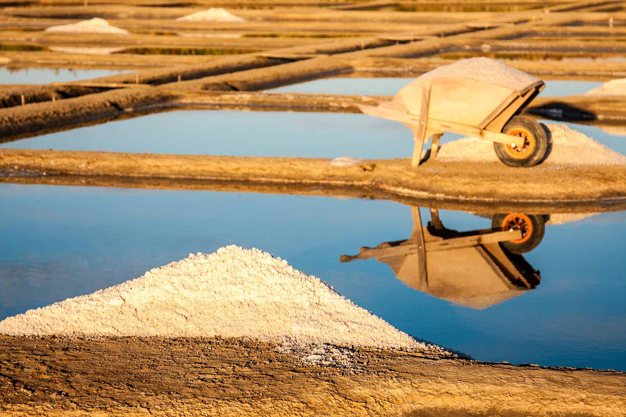 Le sel de ferme de guérande